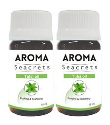 Buy Tulsi oil (15ml) - pack of 2 essential-oil online