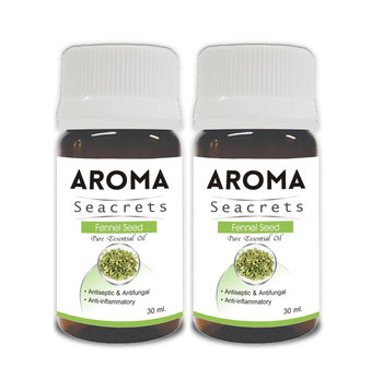 Fennel seed pure essential oil (30ml) - pack of 2