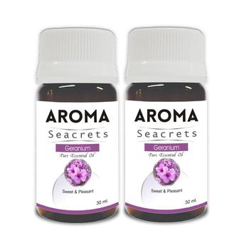 Geranium pure essential oil (30ml) - pack of 2