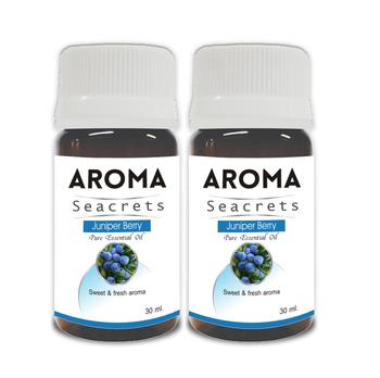 Juniper berry pure essential oil (30ml) - pack of 2