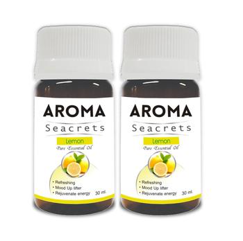 Lemon pure essential oil (30ml) - pack of 2