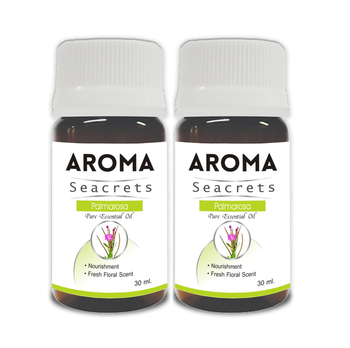 Palmarosa pure essential oil (30ml) - pack of 2