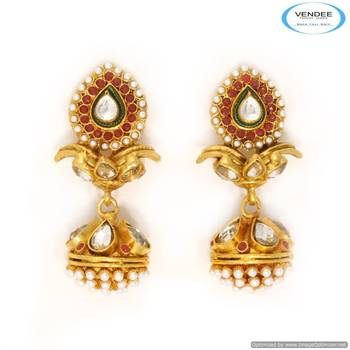 Vendee Indian fashion  earrings 6811