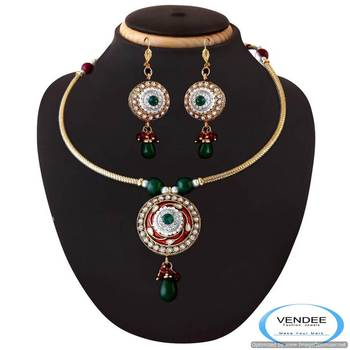 Vendee Traditional fashion designer necklace jewelry 3363