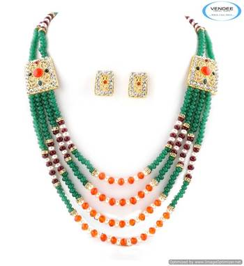 Vendee Stylish Indian Bollywood necklace set 5007