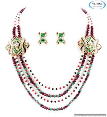 Vendee Marvelous designer diamonds necklace jewelry 5012