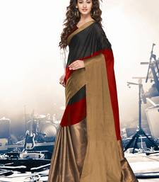 Buy Multicolor printed cotton silk saree with blouse kareena-kapoor-saree online