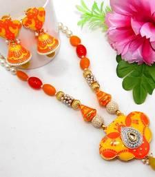 Buy Meenakari Ethnic Neck Ear Set 34 Necklace online