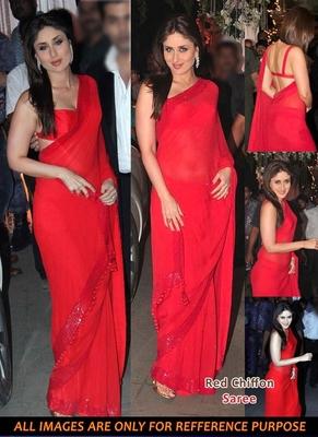 KAREENA IN RED