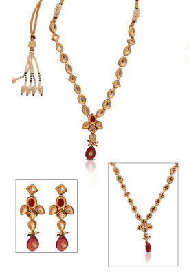 Gold plated 3 piece beautiful Necklace Set from just Women