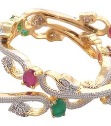 Buy Bangle with American diamonds bangles-and-bracelet online