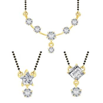 White Cubic Zirconia Jewellery Combo