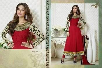 Bollywood Designer Eesha Gupta Anarkali Suit