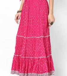 Buy Amazing Siver Print Skirt skirt online