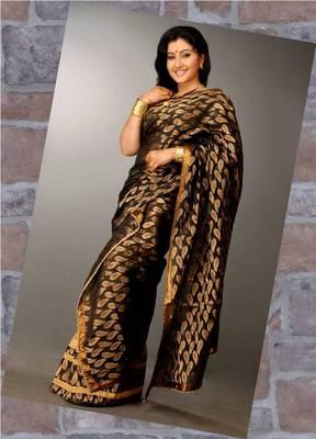 Chanderi Silk Chadar and Raw Silk Mekhela