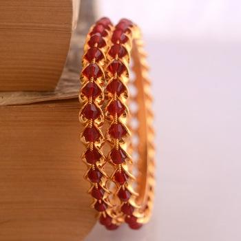 Golden bangles #112