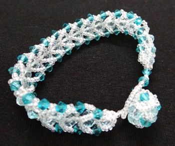 Clear Blues Bracelet