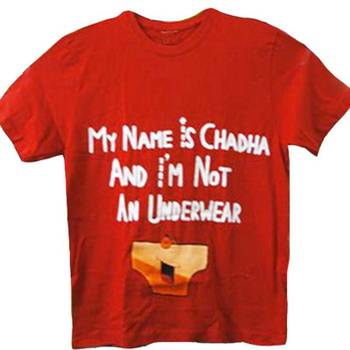 MY NAME IS CHADDHA - T-SHIRT