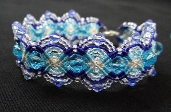 True Blue- Bracelet