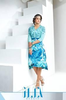 e13856580e83c Pure Georgette Kurtis - Buy Designer Georgette Kurtas Online at Low ...