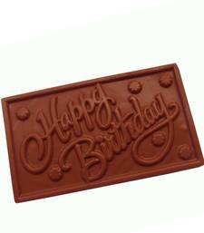8 OFF Buy Homemade Chocolates Happy Birthday Chocolate Gift Online