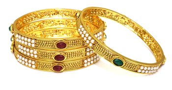 Multicolor Crystal Bangles And Bracelets