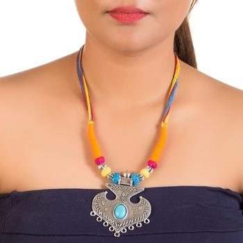 Pretty fashion thread neckpiece
