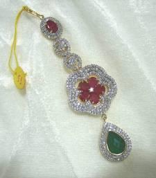 Buy American Diamond Mang-tika maang-tikka online