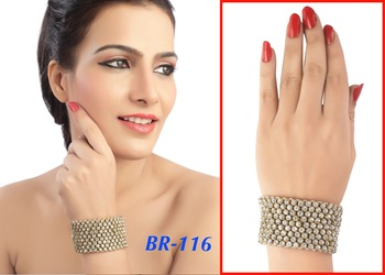 Ethnic Austrian Stone Work Fancy Design Bracelet
