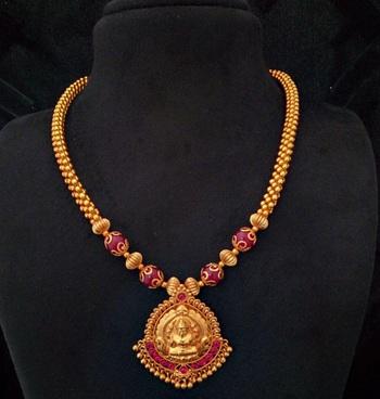 Laxmi Pendent Necklace