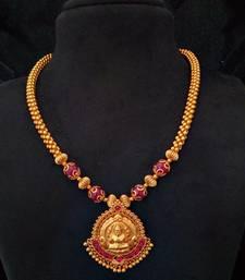 Buy Laxmi pendent necklace women-ethnic-wear online