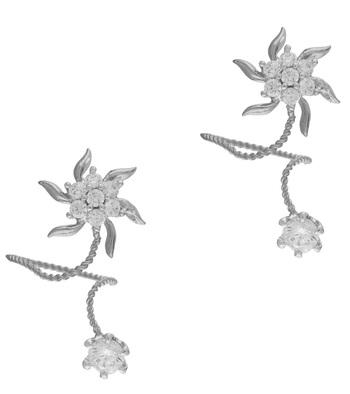 Silver Cubic Zirconia Rings