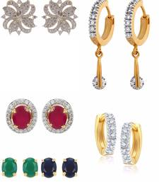Buy earrings for girls stud online