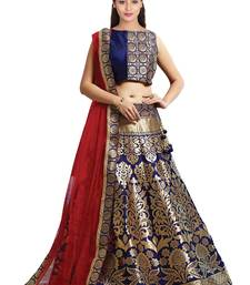 Lehenga Choli By Voovilla (navy_blue)