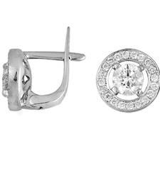 Buy 4.4ct diamond White gold Precious gemstone-earrings gemstone-earring online