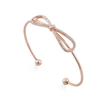 The studded bow bracelet