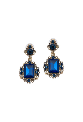 The princess-in Blue drop earing