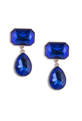 SAPHIRE ATTRACTION EARRINGS