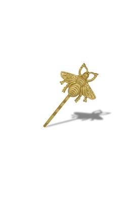 GOLDEN MOTH HAIR PIN