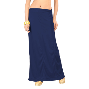 Ziya Blue Pure Satin Petticoat