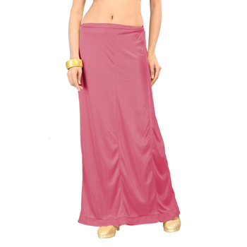 Ziya Pink Pure Satin Petticoat