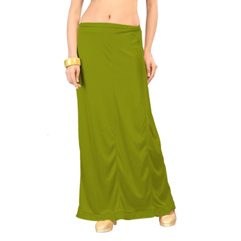 Ziya Green Pure Satin Petticoat