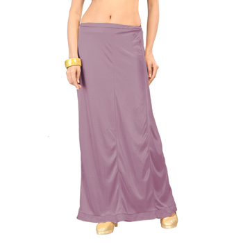 Ziya Lavender Pure Satin Petticoat