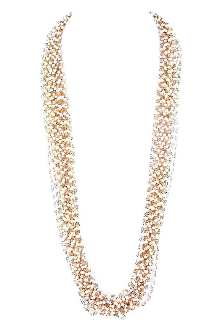Buy Pearl Beaded Multistrand Necklace Online