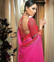 Buy magenta georgette saree georgette-saree online