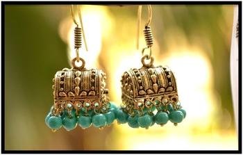 Meenakari Mughal Designer Royal Earrings