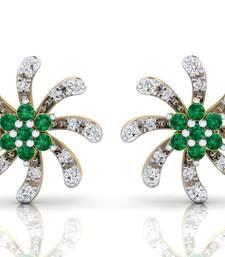 Buy 0.445ct Yellow Diamond gemstone-earrings gemstone-earring online