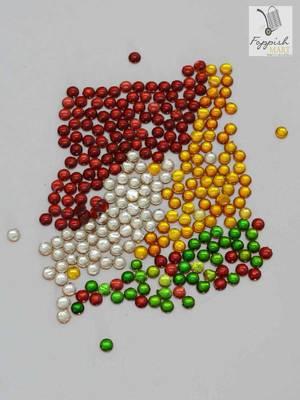 Multicoloured Kundan (1200 + 200 pcs)