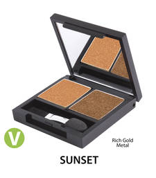 Buy Flora eyeshado duo pallet  sunset personal-cis online