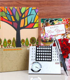 Buy New year gift of calender and diary book new-year-gift online
